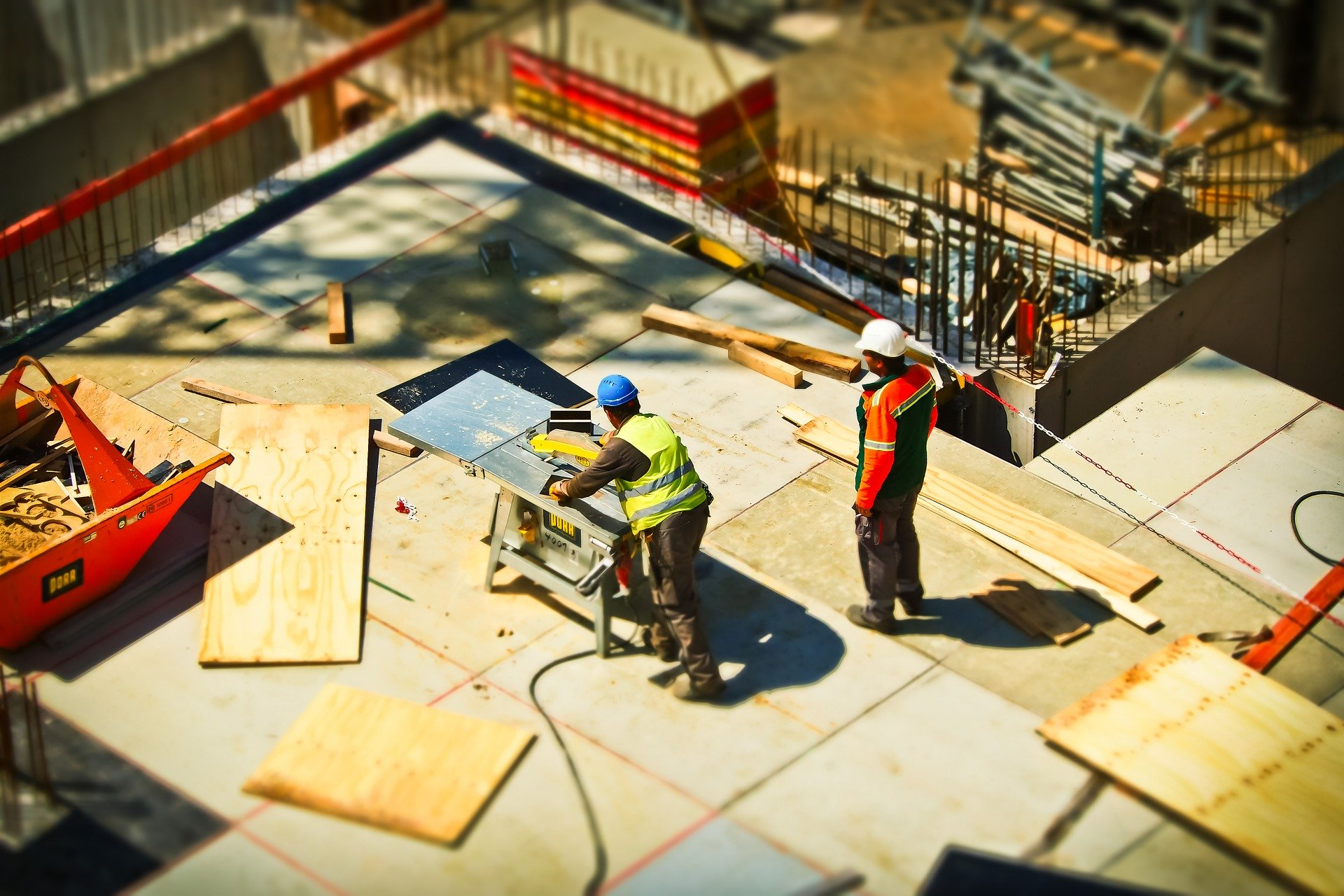 picture of construction site