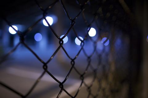 picture of barbed wire fence